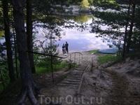 Стоянка Лестница.. но река Керженец
