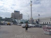 Гостиница Украина на Майдане Незалежности