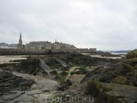Вид на старый город с одного из островов