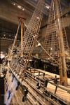 огромный корабль стоит в специально созданном музее, с нескольких этажей музея можно получше рассмотреть детали корабля...