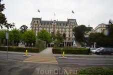 Отель Anne-Sophie Pic и один из лучших отелей Европы Beau-Rivage Palace