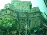 Барселона  - из окна автобуса