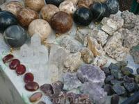 Всевозможные минералы - благородные и не очень