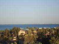 Вид на море со смотровой площадки
