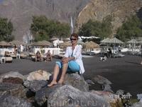 На черном пляже Периссы