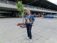 Ура!! Мы в Греции. Аэропорт Македония, Салоники