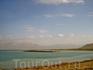 Мертвое море при въезде в Израиль.