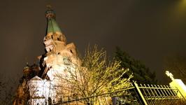 Но к нашему удивлению и православная церковь в Тампере была также закрыта наглухо и приходить предлагалось только на следующий день 7-ого утром в 8 часов ...