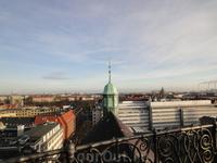 Вот он, Копенгаген, с высоты птичьего полёта!