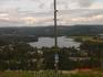 вид на озеро из курортного рестрана
