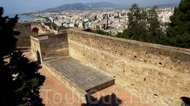 Malaga, крепость Gibralfaro