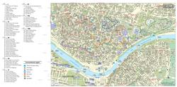 Карта Севильи с достопримечательностями