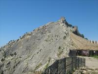Генуэзская крепость.Вид на Девичью башню.