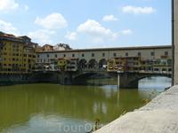 Флоренция. Золотой (старый) мост.