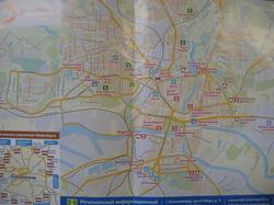 Карта центра Калининграда