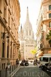 Улочка Готического квартала,Кафедральный собор