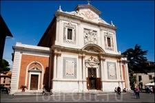Пиза.   Церковь Санта Стефана Деи Кавальери.