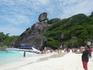 Семиланский остров №8 со своим крахмально-белвым пляжем