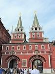 Воскресенские ворота, которые ведут на Красную площадь