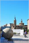Сарагоса, базилика Марии Пилар. Город был основан в 80 до н. э. римлянами. В период с 714 по 1085 годами находился во владении мавров, прежде чем был взят ...
