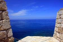 Вид с крепости г. Ресимно.Остров Крит.
