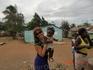 В деревне где живут бедные и необразованные гаитянцы