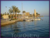 Порт Галит днём
