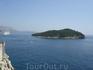 Дубровник, вид на остров Локрум