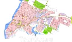 Карта Приморско-Ахтарска