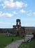 А это двор крепости и руины собора.