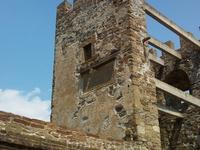 Генуэзская крепость. Башня изнутри.