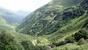Вид от водопада на долину реки Имеретинка