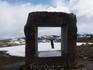Окно в страну фьордов на вершине перевала через горный массив Согнфьель. Скульптор Кнут Вольд.
