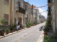 Одна из улиц в Сан Вито ло Капо