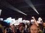фанатская акция на концерте ДМ