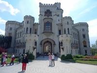 Замок Глубока над Влтавой - &quotженский&quot замок. Один из самых красивых в Чехии