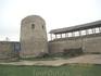 Избоская крепость IV в., 32 км от г. Пскова, на берегу Городищенского озера
