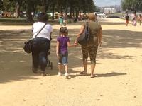 Американки на прогулке