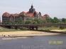 Вид на Эльбу с террасы Брюлля