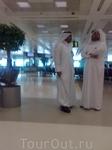 В аропорту г. Доха.