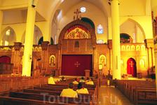 В коптской церкви в Асуане