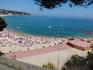 вид на пляж Ллорета