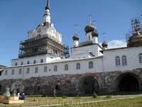 Соловецкий монастырь внутри