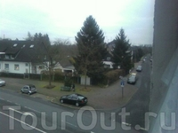 Вид на улицу Itterstrasse.