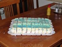 Праздничный торт.