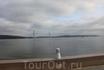 Вид на Русский мост с Университетской набережной