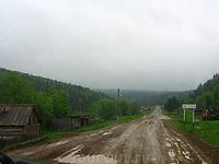 деревня Мутиха - начало маршрута