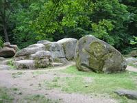 камни играют важную роль в парке