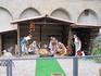 Вертеп во Флоренции. Во дворике Санта Мария Новелла.