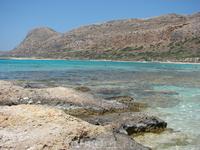 оттенки воды лагуны Балос